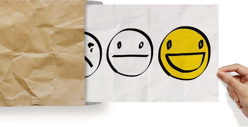 smiley faces survey choices