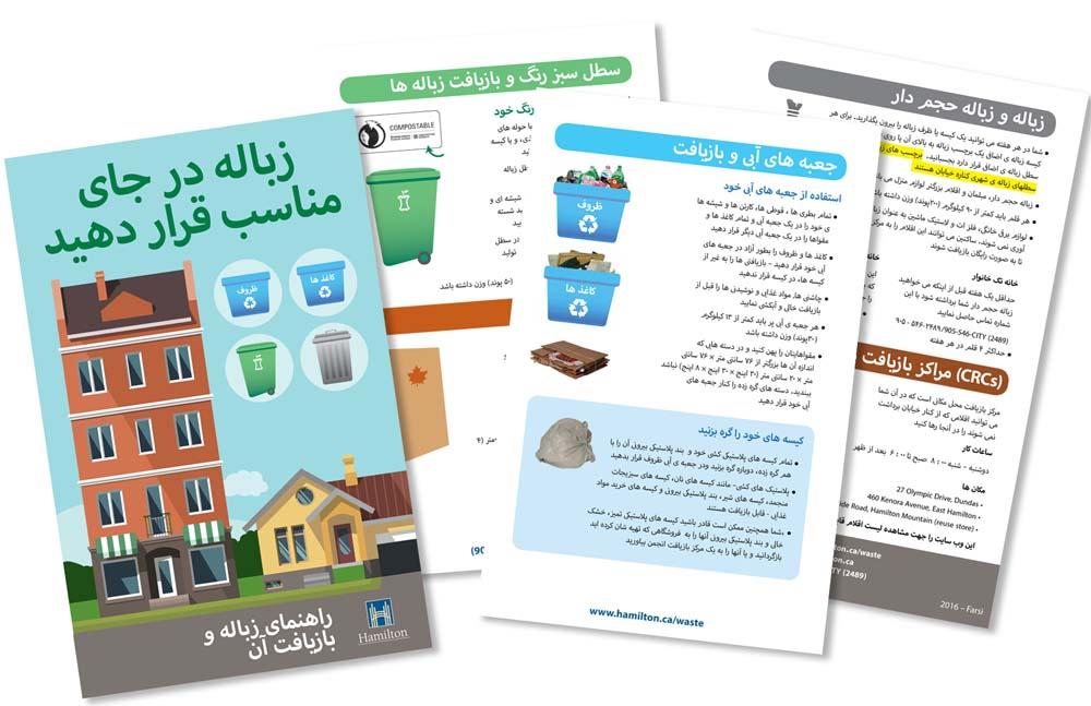 Farsi Recycling Guide