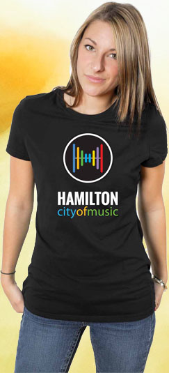 City of Music t-shirt